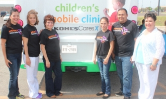 Chlidren's Hospital of SA Mobile Clinic  Provide Free Immunizations Thursday